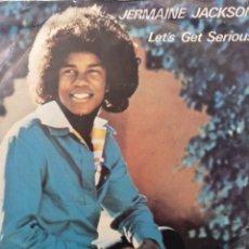 Discos de vinilo: JERMAINE JACKSON ** LET'S GET SERIOUS * JE VOUS AIME BEAUCOUP **. Lote 267718954