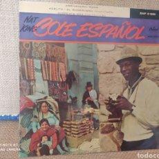 "Discos de vinilo: SINGLE COLE ESPAÑOL. NAT ""KING"" COLE. Lote 267720184"