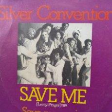 Discos de vinilo: SILVER CONVENTION ** SAVE ME * SAVE ME AGAIN **. Lote 267721644