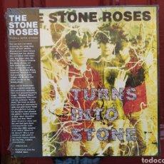 Discos de vinilo: THE STONE ROSES–TURNS INTO STONE. DOBLE LP VINILO PRECINTADO.. Lote 267730899