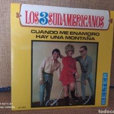 Discos de vinilo: SINGLE LOS 3 SUDAMERICANOS. Lote 267735064