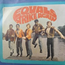 Discos de vinilo: THE EQUALS ** RUB A DUB DUB * AFTER THE LIGHTS GO DOWN NOW **. Lote 267735324