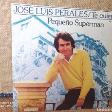 Discos de vinilo: SINGLE JOSÉ LUIS PERALES.. Lote 267735534