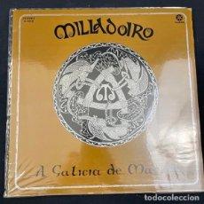 Disques de vinyle: A GALICIA DE MAELOC-MILLADOIRO-DISCO-LP-RUADA-R103D. Lote 267744939