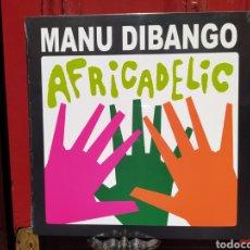 Discos de vinilo: MANU DIBANGO–AFRICADELIC. LP VINILO PRECINTADO. Lote 267745494