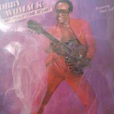 Discos de vinilo: BOBBY WOMACK ** LOVE HAS FINALLY BOME AT LAST * AMERICAN DREAM **. Lote 267749099