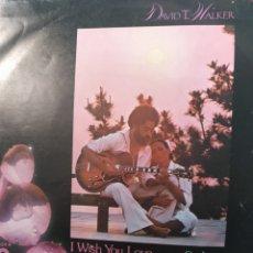 Discos de vinilo: DAVID T. WALKER ** I WISH YOU LOVE * ON LOVE **. Lote 267749724