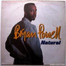 Discos de vinilo: BRYAN POWELL - NATURAL - MAXI TALKIN' LOUD 1993 UK BPY. Lote 267755539