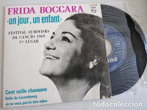FRIDA BOCCARA – UN JOUR, UN ENFANT EUROVISION 1969 (Música - Discos - Singles Vinilo - Festival de Eurovisión)