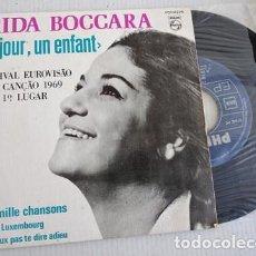 Discos de vinilo: FRIDA BOCCARA – UN JOUR, UN ENFANT EUROVISION 1969. Lote 267760089