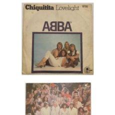 "Discos de vinilo: VINILOS DE 7 PULGADAS DE ABBA QUE CONTIENEN ""LOVELIGHT"", ""CHIQUITA"", ""SUPER TROUPER"" .... Lote 267763029"