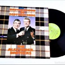 Discos de vinilo: VINILO BROTHERHOOD OF SCOTTISH SONG. Lote 267770734