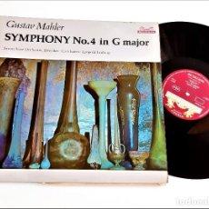Discos de vinilo: VINILO GUSTAV MAHLER. Lote 267771014