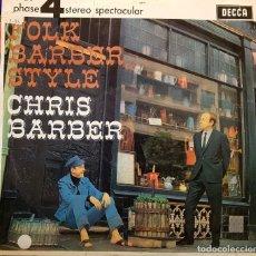 Discos de vinilo: FLOK BARBER - CHRIS BARBER. Lote 267771069