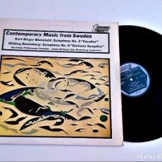 Discos de vinilo: VINILO CONTEMPORARY MUSIC FROM SWEDEN. Lote 267772164