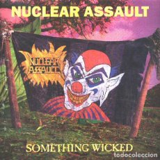 Disques de vinyle: NUCLEAR ASSAULT – SOMETHING WICKED -LP-. Lote 267773319