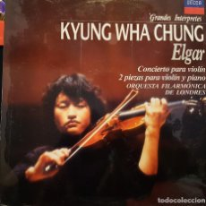 Discos de vinilo: KYUNG WHA CHUNG - ELGAR. Lote 267775939