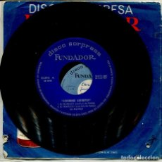 Disques de vinyle: MARCAS COMERCIALES - FUNDADOR 10.095 (CANCIONES FAVORITAS) LOS MODAYS. Lote 267791929