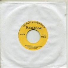 Discos de vinilo: MARCAS COMERCIALES - FUNDADOR 10.120 (ISLAS CANARIAS - EL RELICARIO). Lote 287569288