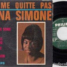Discos de vinilo: NINA SIMONE - NE ME QUITTE PAS + 3 - EP DE VINILO EDICION FRANCESA #. Lote 267793219