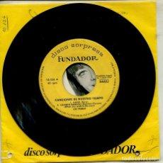 Disques de vinyle: MARCAS COMERCIALES - FUNDADOR 10.124 (CANCIONES DE NUESTRO TIEMPO) LOS PUMAS - LOS PEKENIKES. Lote 267793814