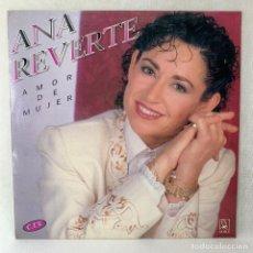 Discos de vinilo: LP - VINILO ANA REVERTE - AMOR DE MUJER - ESPAÑA - AÑO 1992. Lote 267795199