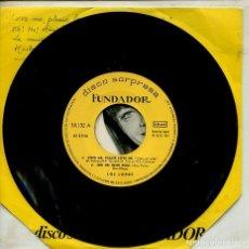 Disques de vinyle: MARCAS COMERCIALES - FUNDADOR 10.132 (LOS LORD'S). Lote 267795679