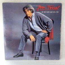 Disques de vinyle: LP - VINILO JEAN FERRAT - JE NE SUIS QUUN CRI - DOBLE PORTADA - FRANCIA - AÑO 1985. Lote 267799834