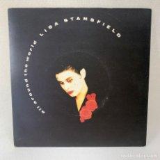 Discos de vinilo: SINGLE LISA STANSFIELD - ALL AROUND THE WORLD - UK - AÑO 1989. Lote 267807424