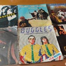 Disques de vinyle: LOTE DE 43 DISCOS DE VINILO SINGLES VARIOS ARTISTAS. Lote 267808639