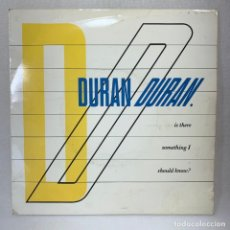 Discos de vinilo: SINGLE DURAN DURAN - IS THERE SOMETHING I SHOULD KNOW? - UK - AÑO 1983. Lote 267811939