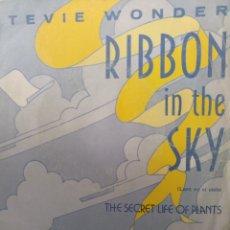 Discos de vinilo: STEVIE WONDER ** RIBBON IN THE SKY * THE SECRET LIFE OF PLANTS **. Lote 267814664