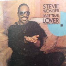 Discos de vinilo: STEVIE WONDER ** PART TIME LOVER **. Lote 267815094