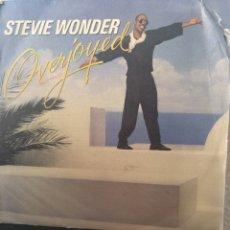 Discos de vinilo: STEVIE WONDER ** OVERJOYED **. Lote 267815574