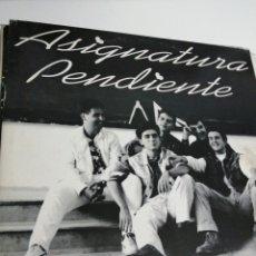 Discos de vinilo: LP DISCO VINILO ASIGNATURA PENDIENTE. Lote 267816504