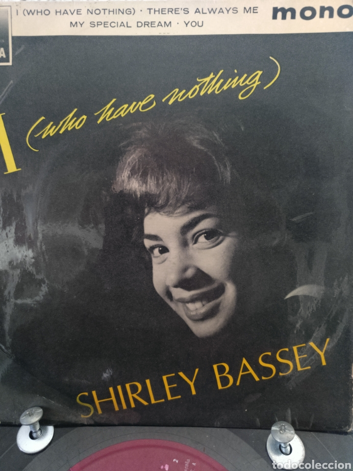 SHIRLEY BASSEY ** I WHO HAVE NOTHING * HOW CAN YOU TELL * MY SPECIAL DREAM * YOU ** (Música - Discos de Vinilo - EPs - Funk, Soul y Black Music)