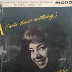 Discos de vinilo: SHIRLEY BASSEY ** I WHO HAVE NOTHING * HOW CAN YOU TELL * MY SPECIAL DREAM * YOU **. Lote 267816689