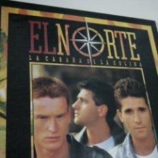 Discos de vinilo: LP DISCO VINILO EL NORTE LA CABAÑA DE LA COLINA. Lote 267816954