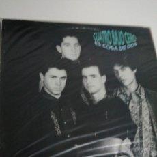 Discos de vinilo: LP DISCO VINILO CUATRO BAJO CERO ES COSA DE DOS. Lote 267817284