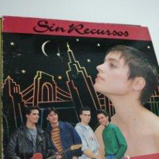 Discos de vinilo: LP DISCO VINILO SIN RECURSOS. Lote 267817429