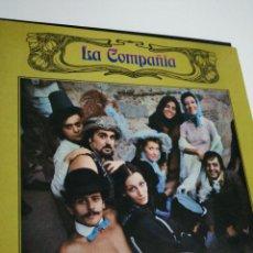 Discos de vinilo: LP DISCO VINILO LA COMPAÑÍA REESTRENO. Lote 267817549