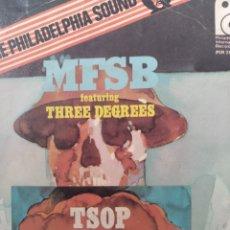 Discos de vinilo: MFSB ** THE SOUND OF PHILADELPHIA * TOUCH ME IN THE MORNING **. Lote 267818674