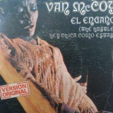 Discos de vinilo: VAN MCCOY ** THE HUSTLE * HEY GIRL, COME AND GET IT **. Lote 267819219
