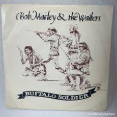 Disques de vinyle: SINGLE BOB MARLEY & THE WAILERS - BUFFALO SOLDIER - AÑO 1983. Lote 267819924