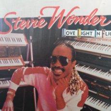 Discos de vinilo: STEVIE WONDER ** LOVE LIGHT IN FLIGHT * IT'S MORE THAN YOU **. Lote 267821879