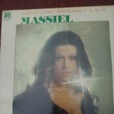 Discos de vinilo: TER MASSIEL LA,LA,LA LP 1976 ROSAS EN MAR PRECINTADO. Lote 267836314