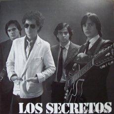 Discos de vinilo: SECRETOS LOS SECRETOS LP VINILO. Lote 267840879