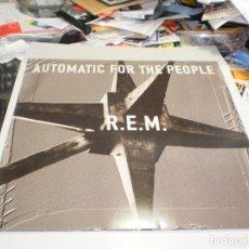 Discos de vinilo: LP REM. AUTOMATIC FOR THE PEOPLE. WARNER 1992 UK FUNDA INTERIOR (PROBADO, BIEN, SEMINUEVO). Lote 267841504