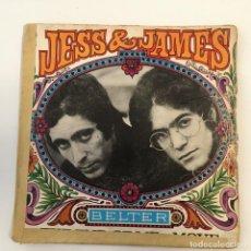 Discos de vinilo: JESS & JAMES - THE END OF ME / MOVE . SINGLE . 1968 BELTER. Lote 267860439