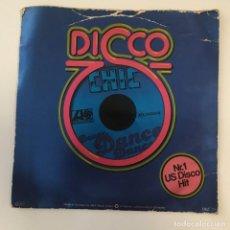 Disques de vinyle: CHIC - DANCE, DANCE, DANCE . SINGLE . 1977 GERMANY. Lote 267860939
